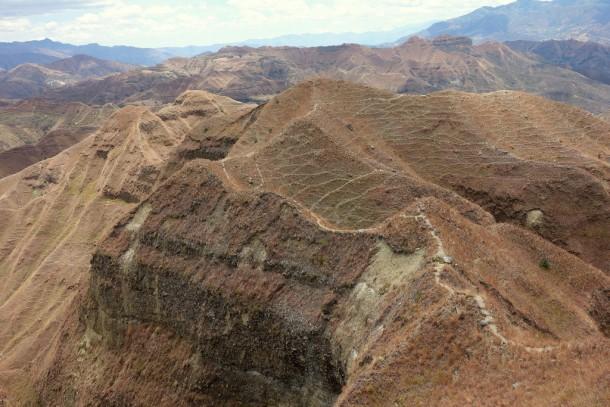 Vilcabamba - second Izhcayluma trail (Kammwanderung)
