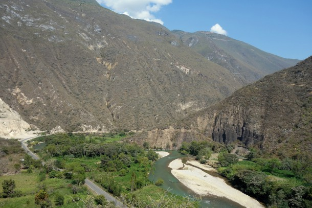 Peru - Chachapoyas - on our way to Kuelap