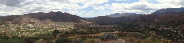 Vilcabamba - erster Izhcayluma trail