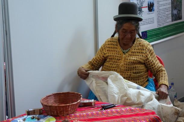 Bolivia - La Paz - Tambo food fair