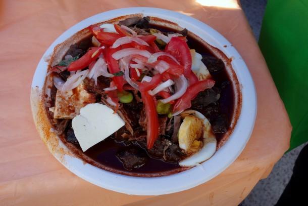 Bolivia - La Paz - Tambo food fair - lunch