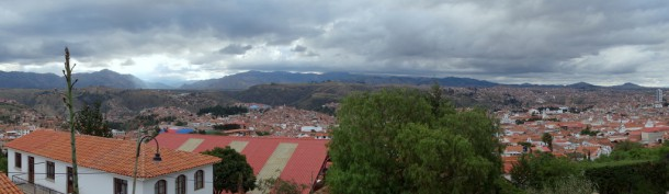 Bolivia - Sucre, panoramic view