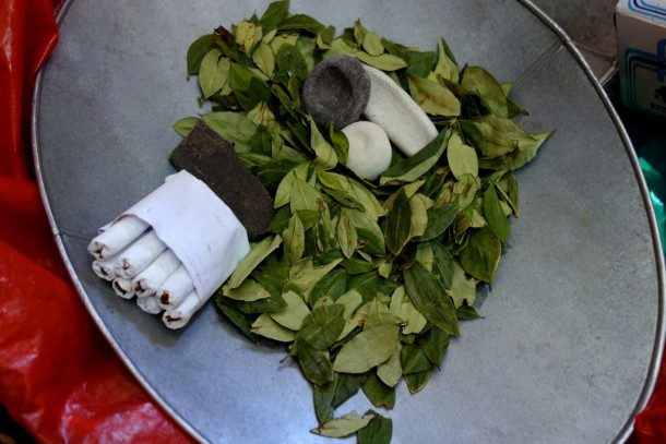 Bolivia - Potosí - Coca Leaves and Cigarettes