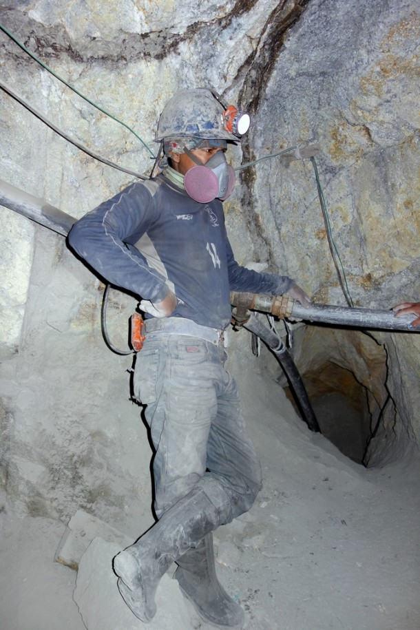 Bolivia - Potosí - minero at work