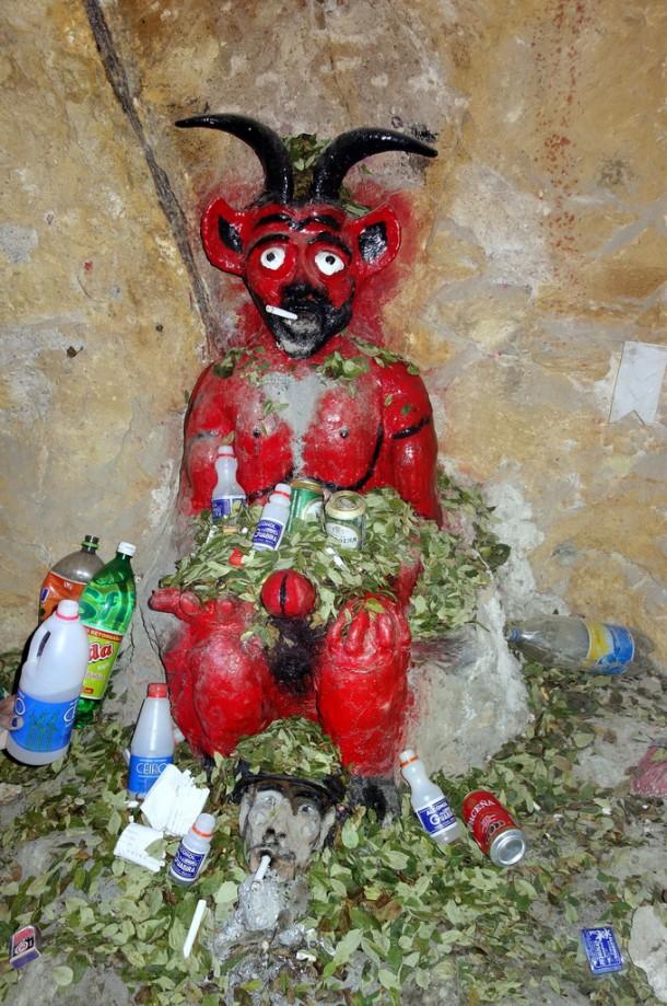 Bolivia - Potosí - El Tio in the mine
