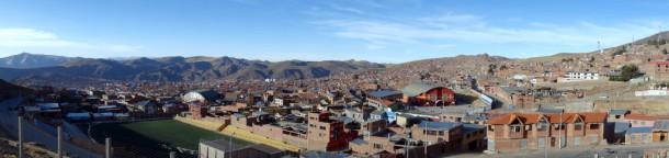 Bolivia - Potosí - panoramic view from Cerro Rico