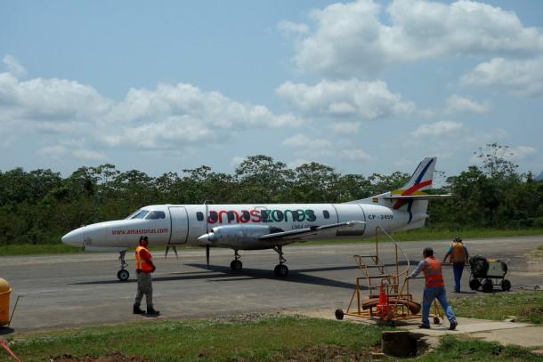 Bolivia - Serere Reserve - Amaszonas Airlines, Rurrenabaque