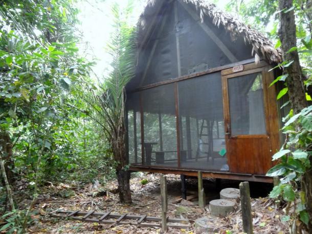 Bolivia - Serere Reserve - our cabana/lodge