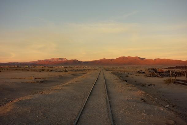 Bolivia - Uyuni - cementerio de trenes