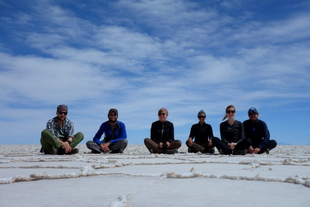 Bolivia - Uyuni - Salar de Uyuni Tour, german-french group