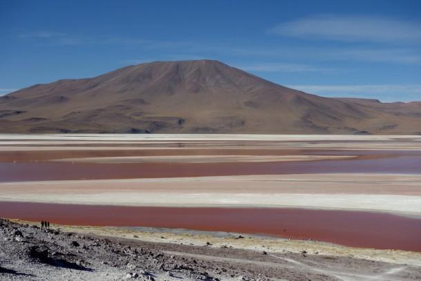 Bolivia - Uyuni - Salar de Uyuni Tour, Laguna Colorada (4278m)