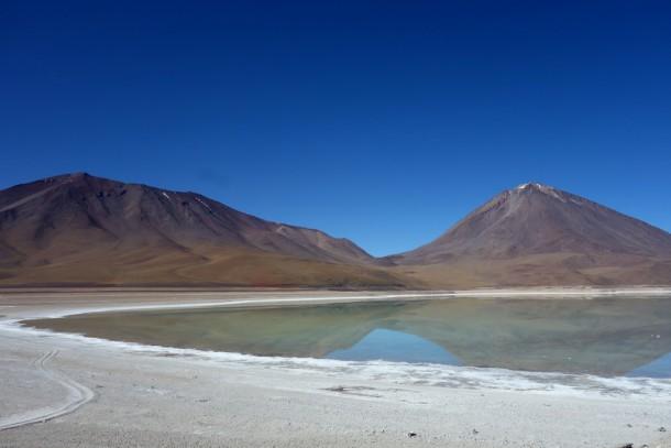 Bolivia - Uyuni - Salar de Uyuni Tour, Laguna Verde and Volcan Lincancabur (4329m)