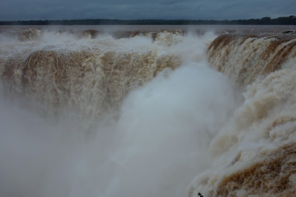 Argentina - Iguazú Falls, Devil's Throat