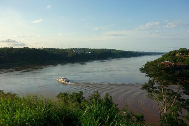 Argentina - Puerto Iguazú, Drei-Länder-Eck (AR, PY, BR)