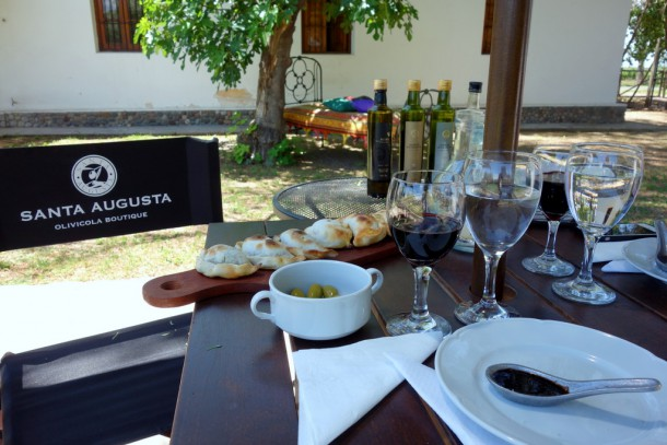 Argentina - Maipu, Santa Augusta Olivicola, Lunch