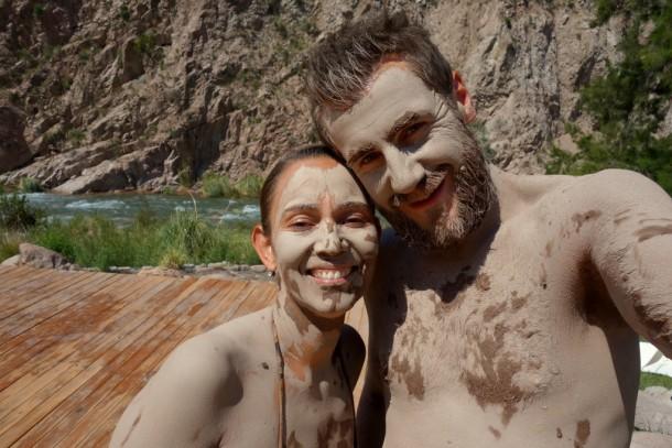 Argentina - Termas de Cacheuta, mud bath