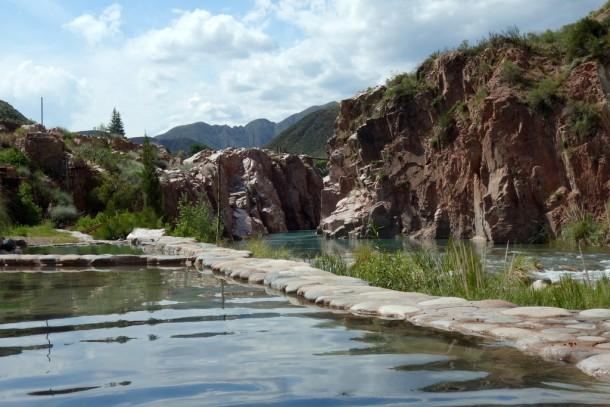Argentina - Termas de Cacheuta, Hot Springs