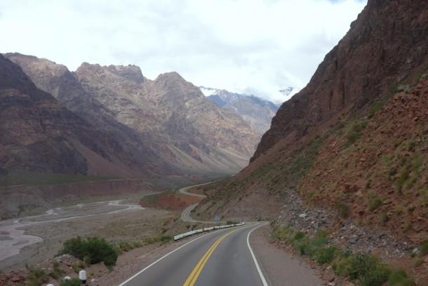 Argentina - Bus ride towards the AR-CI border