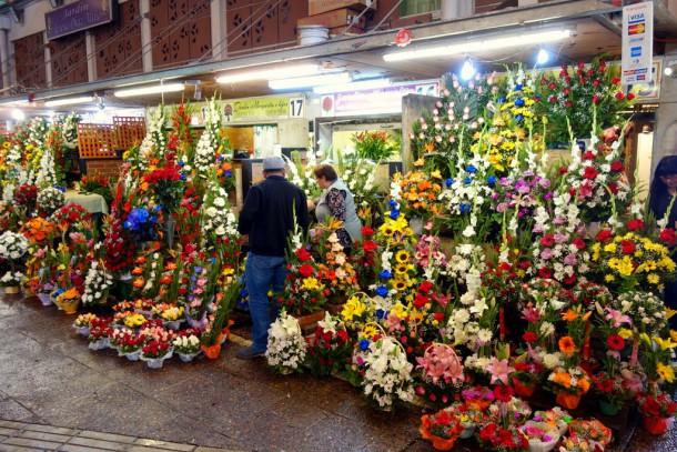 Chile - Santiago, Flower Market