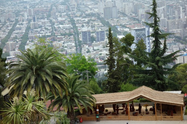 Chile - Santiago, View from Cerro San Cristobal