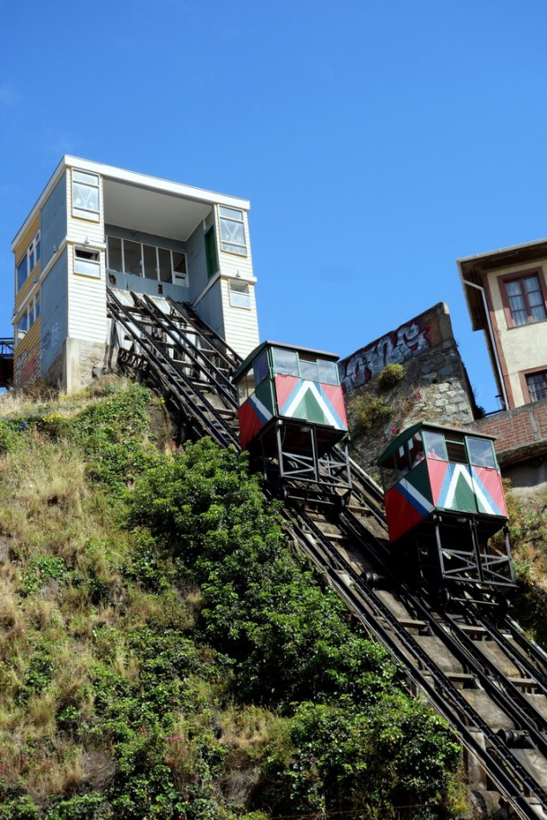 Chile - Valparaíso, Ascensor
