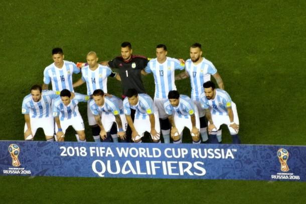 Argentina - Buenos Aires - AR-BR Worldcup2018 Qualifier, team Argentina