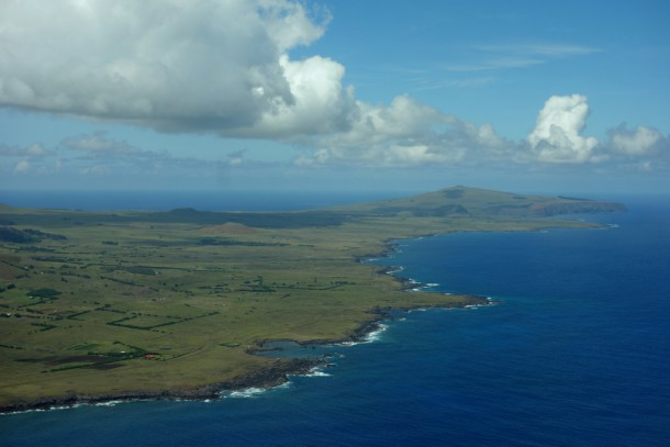 Chile - Easter Island, on the way back to Santiago