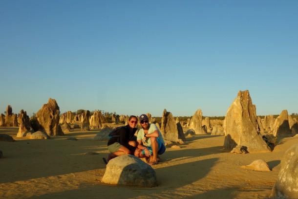 Australia - Cervantes, Pinnacles Desert, sunset